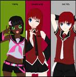 DGMC: Vocaloid Trio