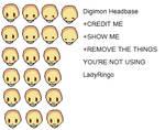 Base: Digimon Head
