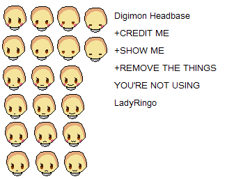 Base: Digimon Head by Gou-kun