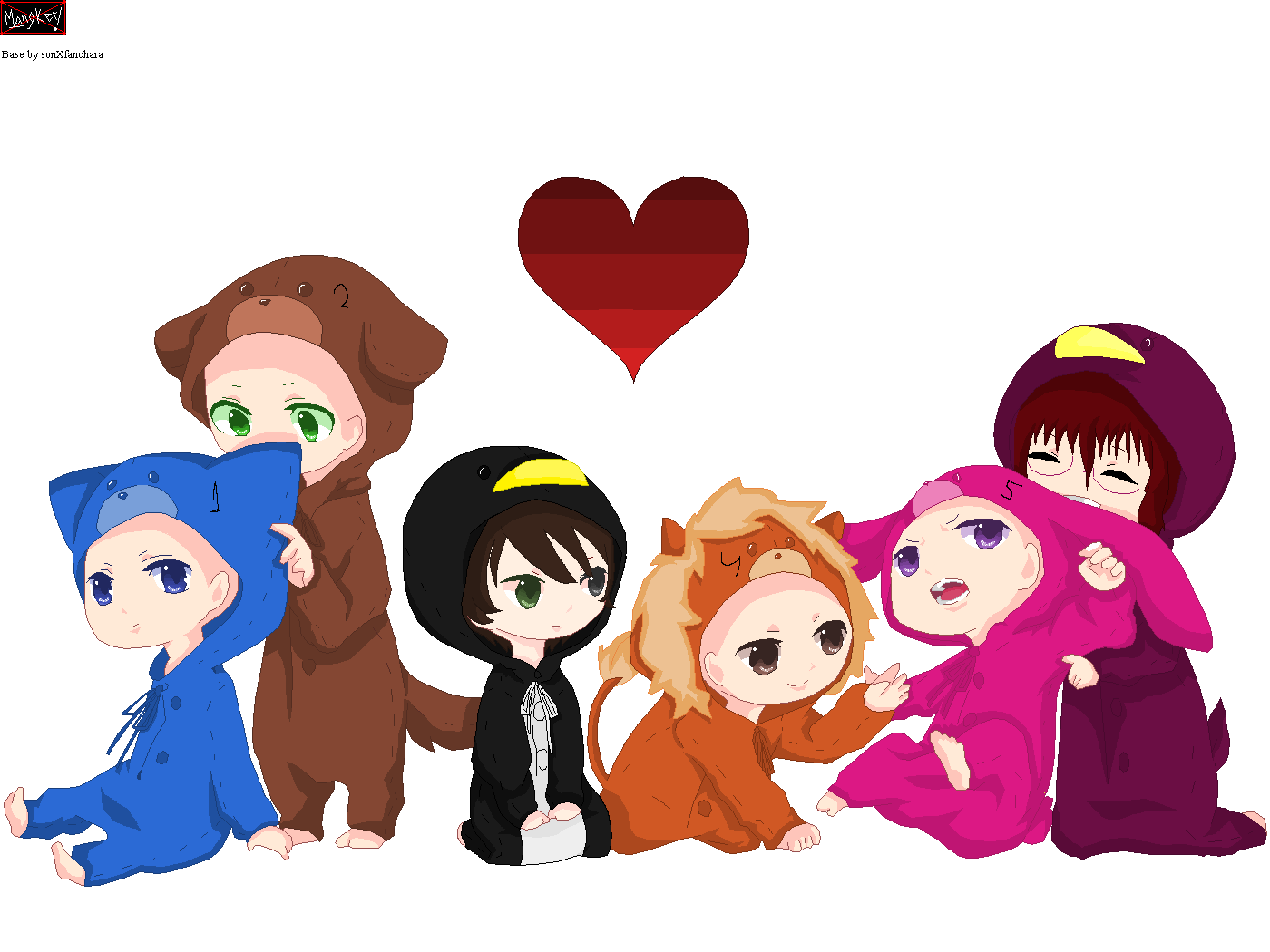 Collab: Kigurumi! FULL by Gou-kun