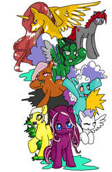MLPFiM: The big gang!