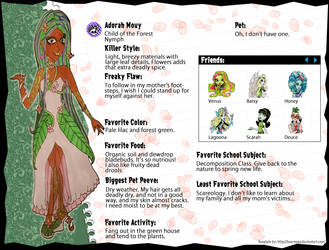 Monster High: Adorah Mouy