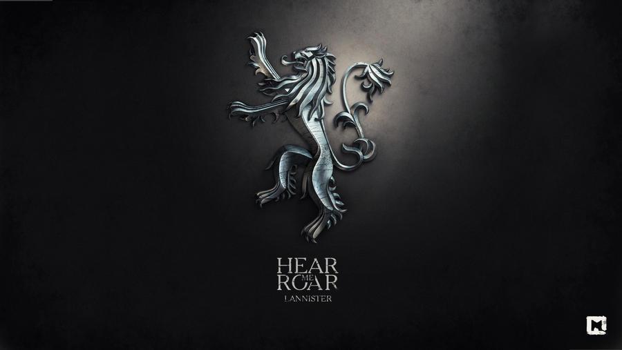 Hear me roar. Lannister by Melaamory