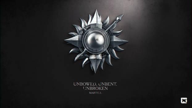 Martell. Unbowed, Unbent, Unbroken