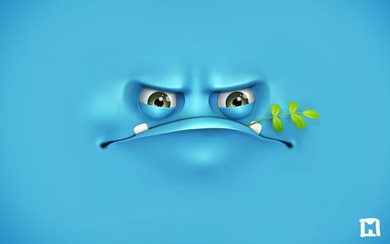 Grumpy wallpaper
