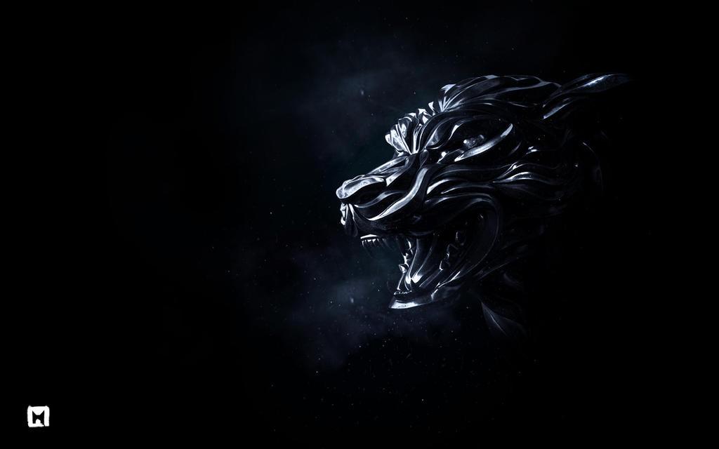 Wolf head by Melaamory