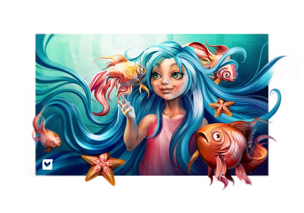 Mermaid by Melaamory