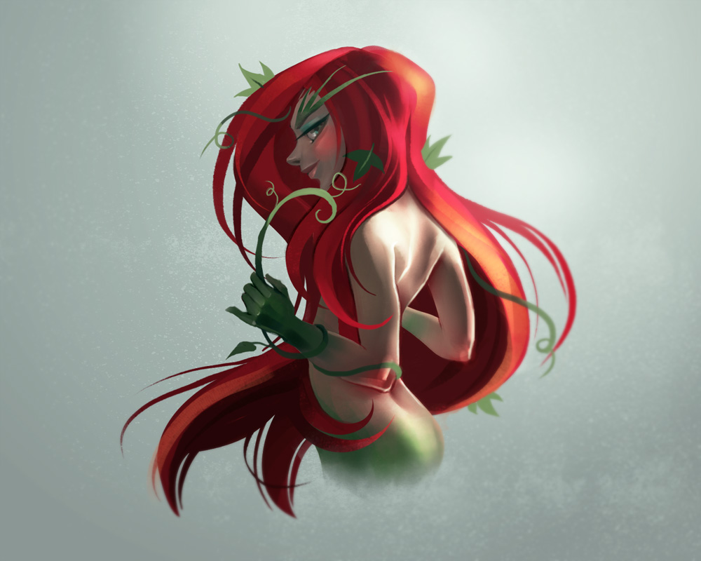 Poison ivy by Melaamory