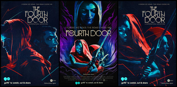 The fourth door posters