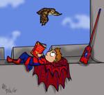 Friendly Hogwarts Spiderman