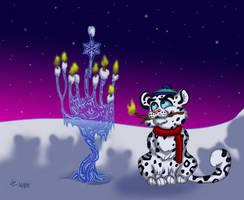 Frosty Hanukkah by LizzyChrome