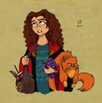 Hermione Granger by LizzyChrome