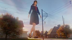 Schoolgirl Giantess