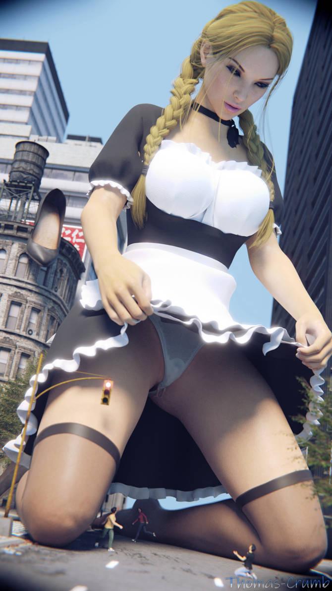 Maid Upskirt by Thomas-Crumb