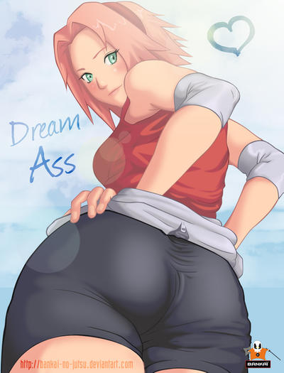 Sakura Dream Ass by Bankai-no-jutsu