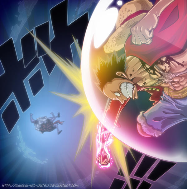 luffy fights by Bankai-no-jutsu on DeviantArt
