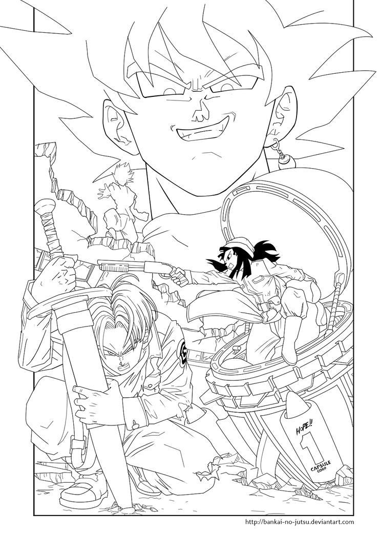 Cover Dragon Ball Super 14 Lineart Modif. By Bankai No Jutsu ...