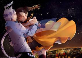 Starry Night by HaKamii