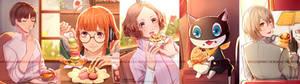 Persona 5 x Sweet desserts (pt.2)