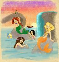 Visiting mermaid lagoon by Vilva