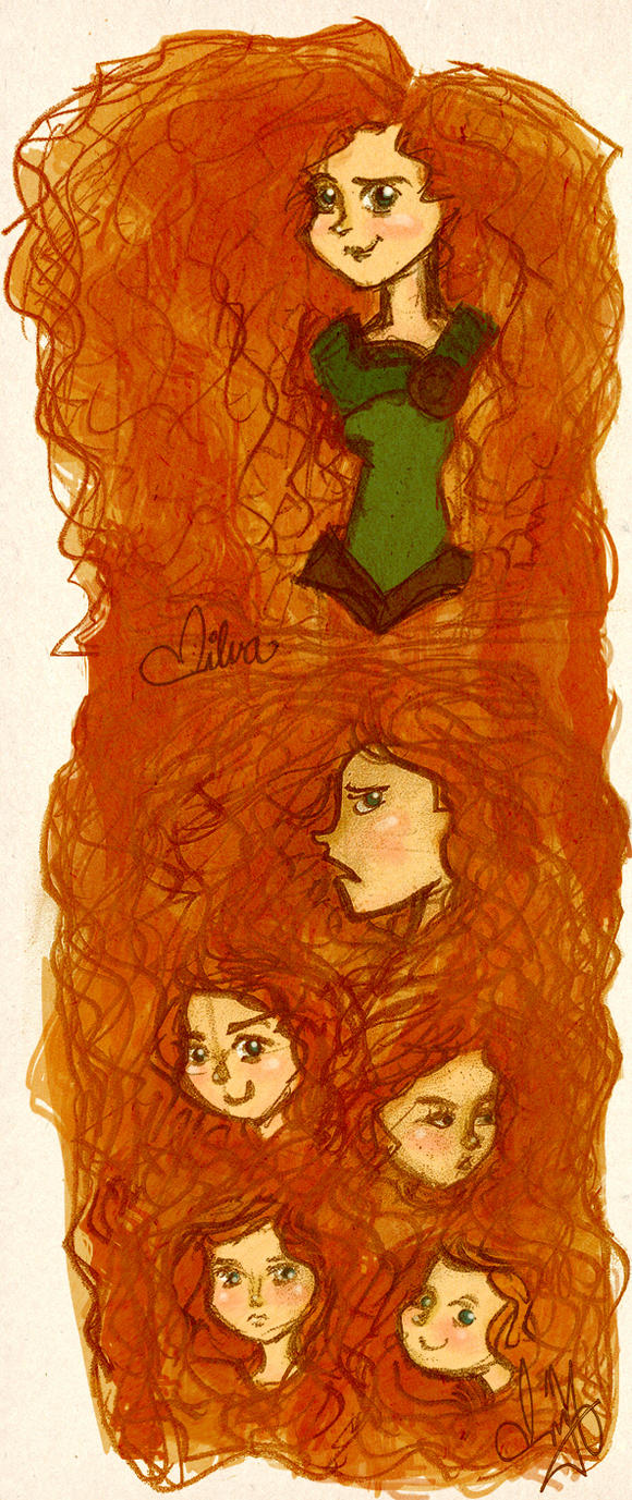 Brave faces by Vilva