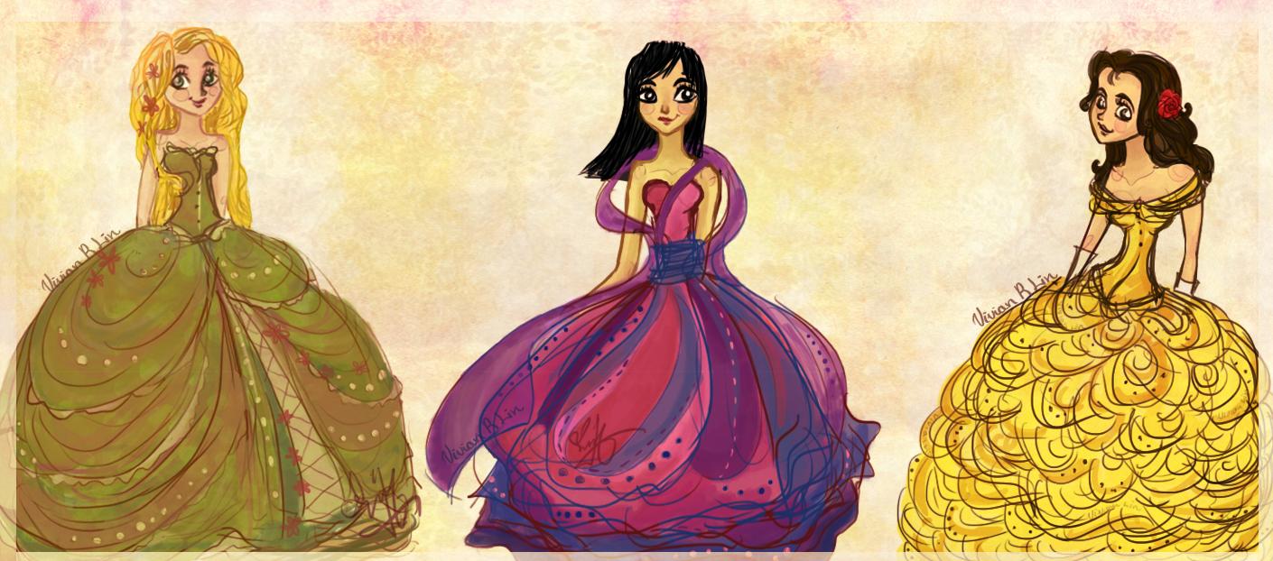 Disney rococo by Vilva