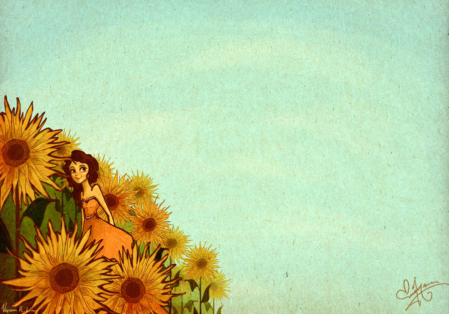 Sunflower Skies by Vilva