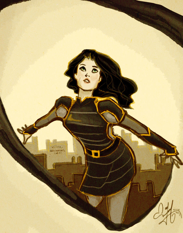 That lady is my hero by Vilva