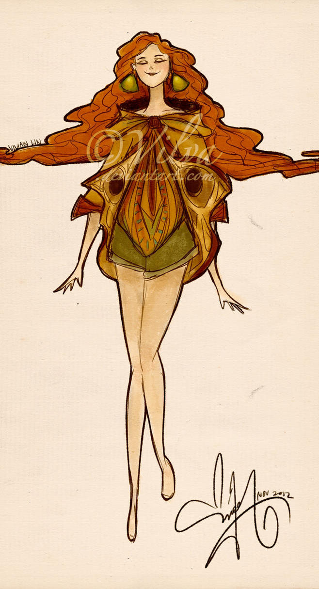 Moth Girl by Vilva