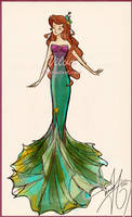 Disney fashion: Ariel by Vilva