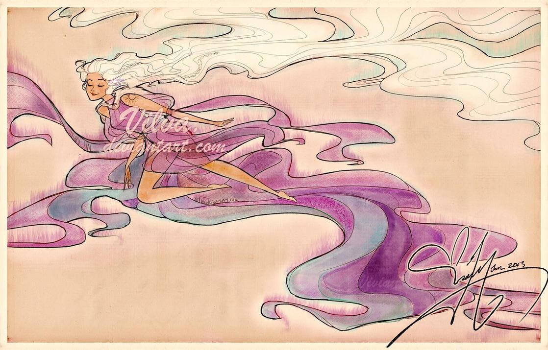 Aurora Borealis- Character Concept! by Vilva