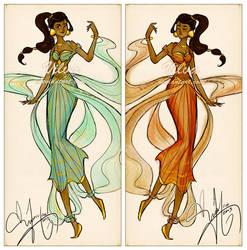 Jasmine dress design by Vilva