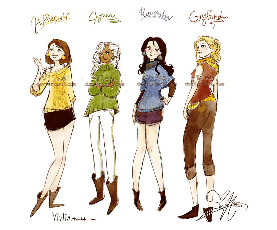 Hogwarts sweaters! by Vilva