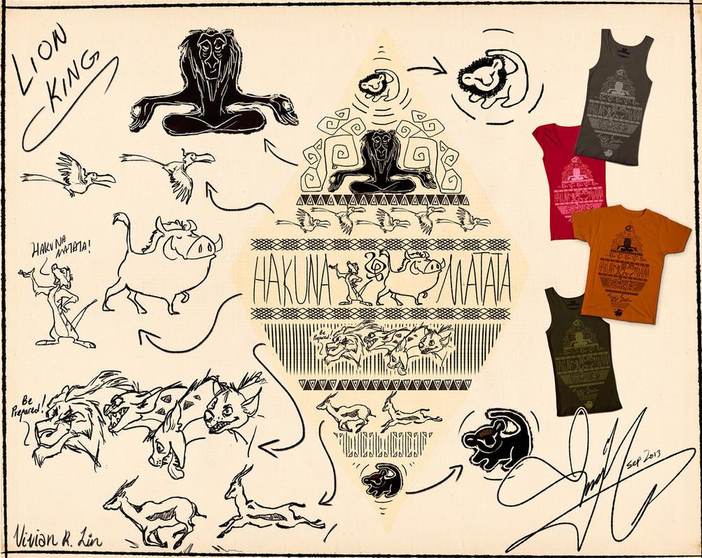 Lion King (Shirt design!) by Vilva