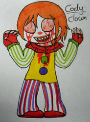 horror oc: the clown by NayaCat