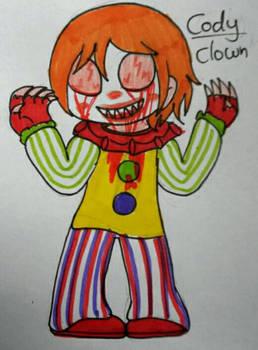 horror oc: the clown