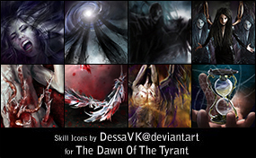 Skill Icons - 2nd set by dessavk