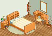 Bedroom by dessavk