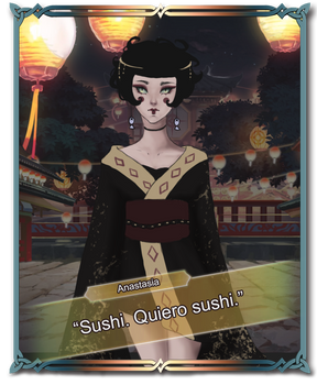 Sushi. Quiero sushi.