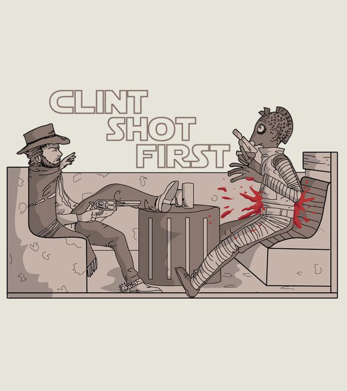 Clint Shot First by Kaineiribas