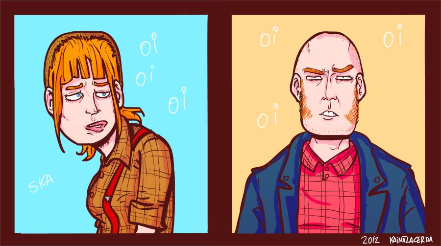 Skinheads by Kaineiribas
