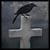 Cemetery Crow II by Falln-Avatars
