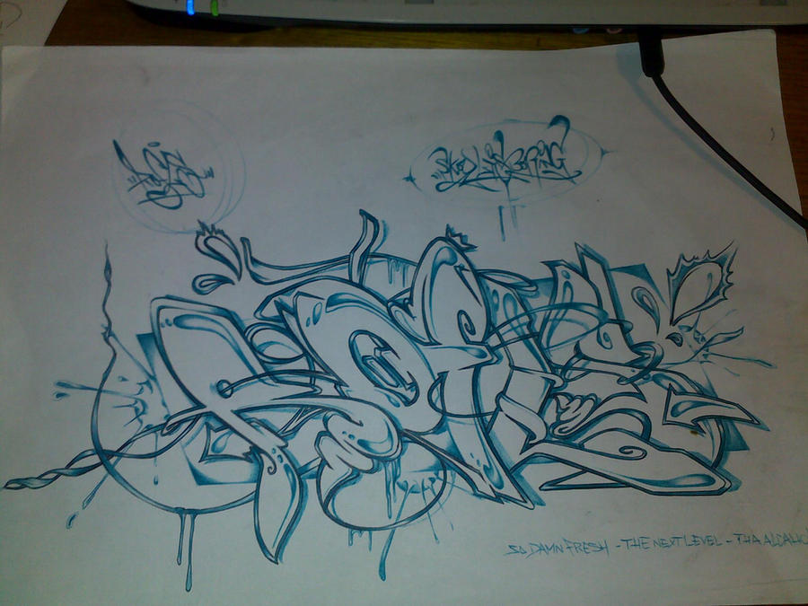 Pictures of Graffiti Sketches Beginner Graffiti Artists