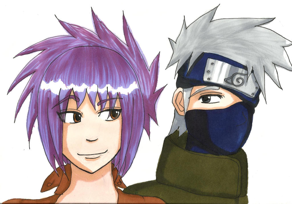 Kakashi Anko by Anina-sensei on DeviantArt