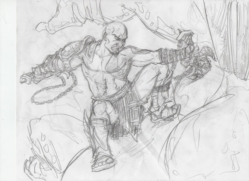 DeviantArt: More Like God of War 3 Hades drawing by Chriluke