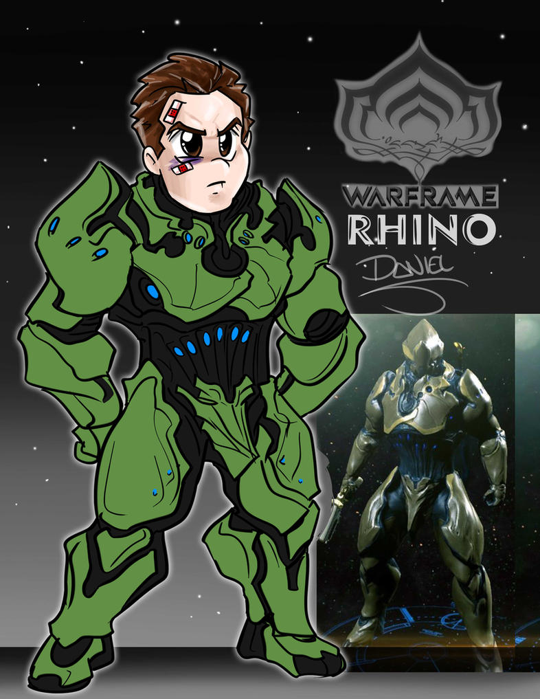 Rhino warframe 2 by wingzerox86