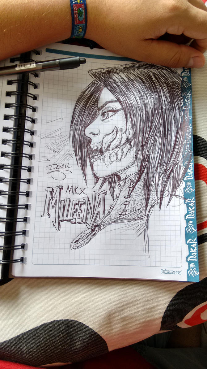Mileena by wingzerox86