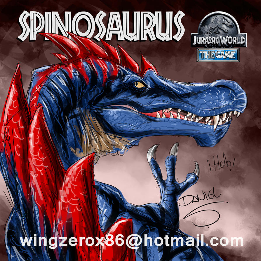 Spino by wingzerox86