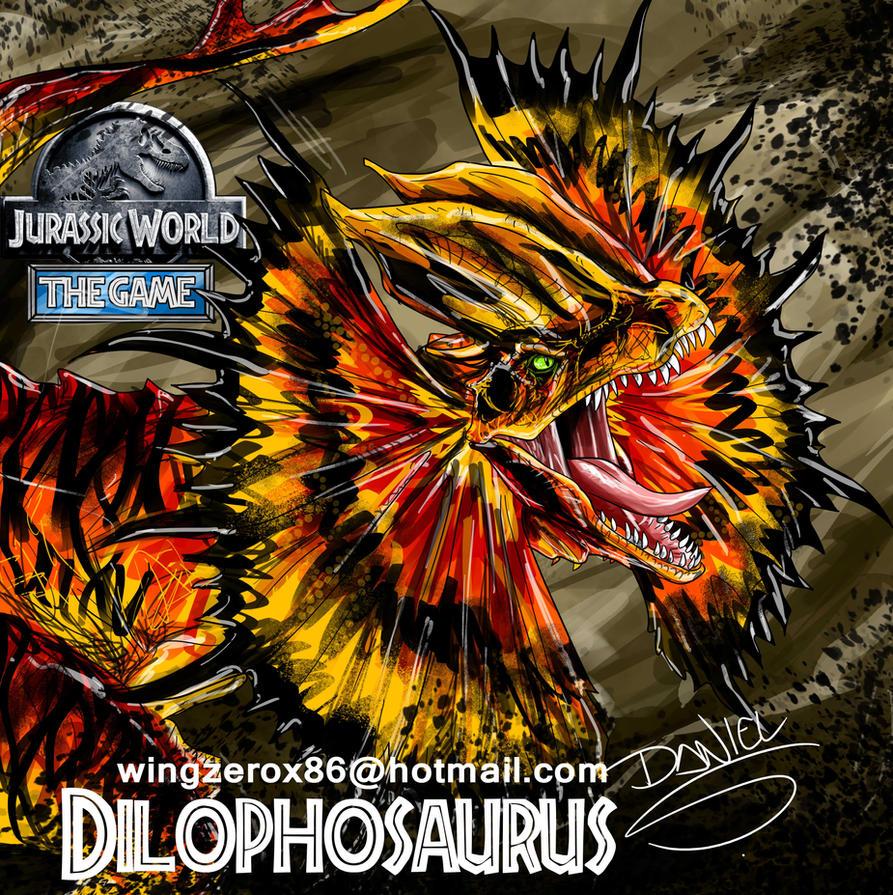 Dilophosaurus Jw by wingzerox86
