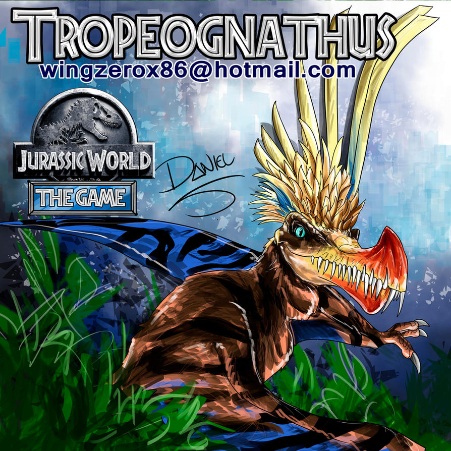 Tropeognathus by wingzerox86